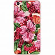 Силиконовый чехол BoxFace Xiaomi Redmi Note 5A Prime Tropical Flowers (32183-up2416)