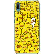 Силиконовый чехол BoxFace Huawei Y6 2019 Yellow Ducklings (36451-up2428)
