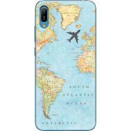 Силиконовый чехол BoxFace Huawei Y6 2019 Карта (36451-up2434)