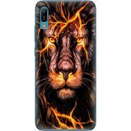 Силиконовый чехол BoxFace Huawei Y6 2019 Fire Lion (36451-up2437)