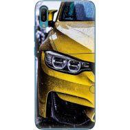 Силиконовый чехол BoxFace Huawei Y6 2019 Bmw M3 on Road (36451-up2439)