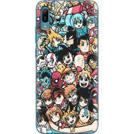 Силиконовый чехол BoxFace Huawei Y6 2019 Anime Stickers (36451-up2458)
