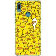 Силиконовый чехол BoxFace Huawei Y6 Prime 2019 Yellow Ducklings (36648-up2428)