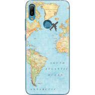 Силиконовый чехол BoxFace Huawei Y6 Prime 2019 Карта (36648-up2434)