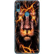 Силиконовый чехол BoxFace Huawei Y6 Prime 2019 Fire Lion (36648-up2437)
