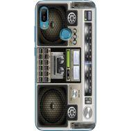 Силиконовый чехол BoxFace Huawei Y6 Prime 2019 Old Boombox (36648-up2446)