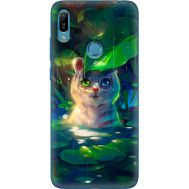 Силиконовый чехол BoxFace Huawei Y6 Prime 2019 White Tiger Cub (36648-up2452)
