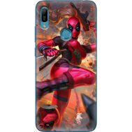 Силиконовый чехол BoxFace Huawei Y6 Prime 2019 Woman Deadpool (36648-up2453)