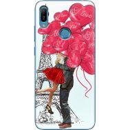 Силиконовый чехол BoxFace Huawei Y6 Prime 2019 Love in Paris (36648-up2460)