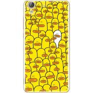 Силиконовый чехол BoxFace Huawei Y6 2 Yellow Ducklings (26172-up2428)