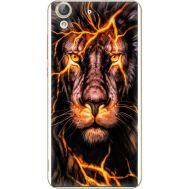 Силиконовый чехол BoxFace Huawei Y6 2 Fire Lion (26172-up2437)