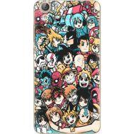 Силиконовый чехол BoxFace Huawei Y6 2 Anime Stickers (26172-up2458)