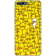 Силиконовый чехол BoxFace Huawei Y6 2018 Yellow Ducklings (33371-up2428)