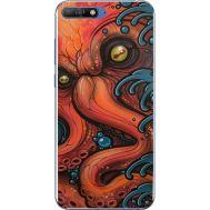 Силиконовый чехол BoxFace Huawei Y6 2018 Octopus (33371-up2429)
