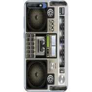 Силиконовый чехол BoxFace Huawei Y6 2018 Old Boombox (33371-up2446)