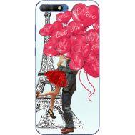 Силиконовый чехол BoxFace Huawei Y6 2018 Love in Paris (33371-up2460)