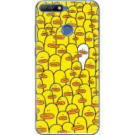 Силиконовый чехол BoxFace Huawei Y6 Prime 2018 / Honor 7A Pro Yellow Ducklings (33830-up2428)