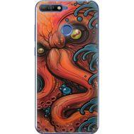 Силиконовый чехол BoxFace Huawei Y6 Prime 2018 / Honor 7A Pro Octopus (33830-up2429)
