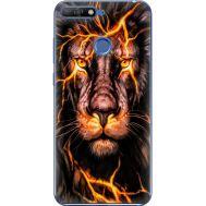 Силиконовый чехол BoxFace Huawei Y6 Prime 2018 / Honor 7A Pro Fire Lion (33830-up2437)