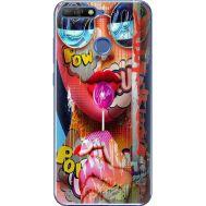 Силиконовый чехол BoxFace Huawei Y6 Prime 2018 / Honor 7A Pro Colorful Girl (33830-up2443)