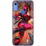 Силиконовый чехол BoxFace Huawei Y6s Woman Deadpool (38864-up2453)