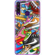 Силиконовый чехол BoxFace Huawei Y6p Sneakers (40017-up2423)