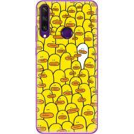 Силиконовый чехол BoxFace Huawei Y6p Yellow Ducklings (40017-up2428)
