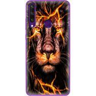 Силиконовый чехол BoxFace Huawei Y6p Fire Lion (40017-up2437)