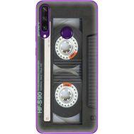 Силиконовый чехол BoxFace Huawei Y6p Старая касета (40017-up2445)