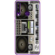 Силиконовый чехол BoxFace Huawei Y6p Old Boombox (40017-up2446)