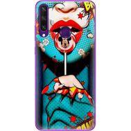 Силиконовый чехол BoxFace Huawei Y6p Girl Pop Art (40017-up2444)