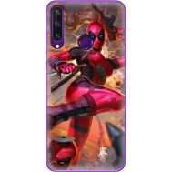 Силиконовый чехол BoxFace Huawei Y6p Woman Deadpool (40017-up2453)