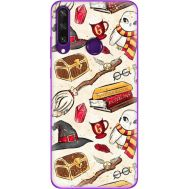 Силиконовый чехол BoxFace Huawei Y6p Magic Items (40017-up2455)