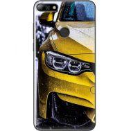 Силиконовый чехол BoxFace Huawei Y7 Prime 2018 Bmw M3 on Road (33373-up2439)