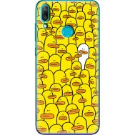 Силиконовый чехол BoxFace Huawei Y7 2019 Yellow Ducklings (36044-up2428)