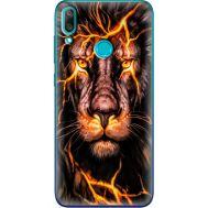 Силиконовый чехол BoxFace Huawei Y7 2019 Fire Lion (36044-up2437)