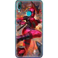 Силиконовый чехол BoxFace Huawei Y7 2019 Woman Deadpool (36044-up2453)