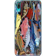 Силиконовый чехол BoxFace Huawei Y7 Pro 2019 Sea Fish (36651-up2419)