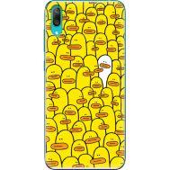 Силиконовый чехол BoxFace Huawei Y7 Pro 2019 Yellow Ducklings (36651-up2428)