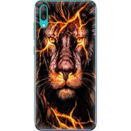 Силиконовый чехол BoxFace Huawei Y7 Pro 2019 Fire Lion (36651-up2437)