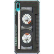 Силиконовый чехол BoxFace Huawei Y7 Pro 2019 Старая касета (36651-up2445)