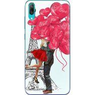 Силиконовый чехол BoxFace Huawei Y7 Pro 2019 Love in Paris (36651-up2460)