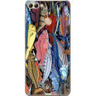 Силиконовый чехол BoxFace Huawei Y9 2018 Sea Fish (33895-up2419)