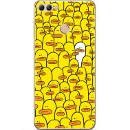 Силиконовый чехол BoxFace Huawei Y9 2018 Yellow Ducklings (33895-up2428)