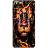Силиконовый чехол BoxFace Huawei Y9 2018 Fire Lion (33895-up2437)