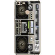 Силиконовый чехол BoxFace Huawei Y9 2018 Old Boombox (33895-up2446)