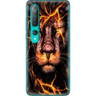 Силиконовый чехол BoxFace Xiaomi Mi 10 Fire Lion (39436-up2437)