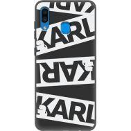 Силиконовый чехол BoxFace Samsung A205 Galaxy A20 White Karl (38282-bk37)