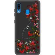 Силиконовый чехол BoxFace Samsung A205 Galaxy A20 3D Ukrainian Muse (38282-bk64)