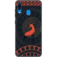 Силиконовый чехол BoxFace Samsung A205 Galaxy A20 Ornament (38282-bk66)